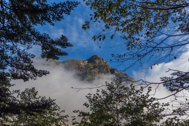 北アルプス 山