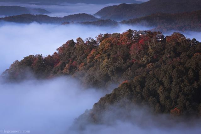 備中松山城 雲海