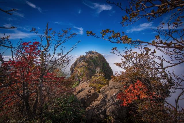 石鎚山 弥山