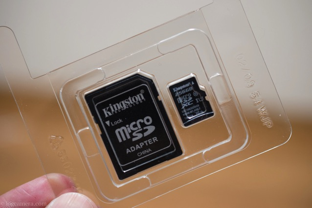 Kingston microSDカード 開封