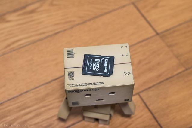 microSDカード ダンボ