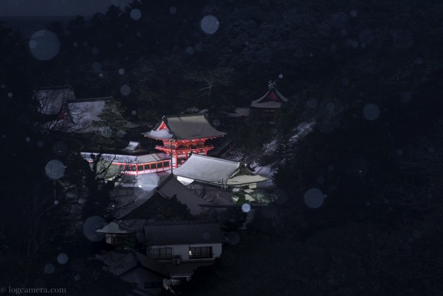 雪の日御碕神社