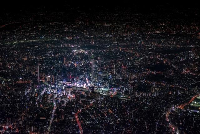 東京夜景空撮
