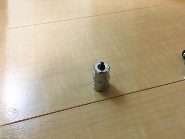 KTC 9.5sq スタッビヘキサゴンビットソケット 3mm BT3-03SS