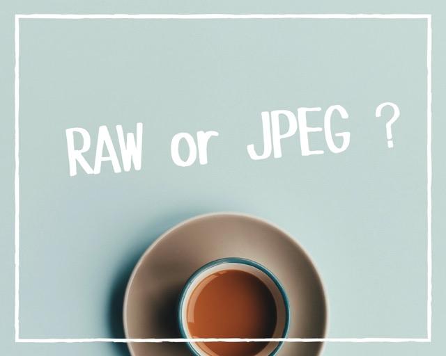 RAW or JPEG