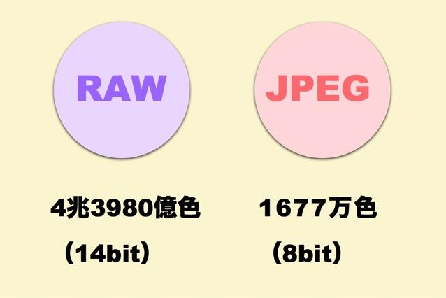 RAW JPEG