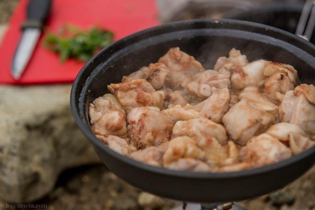 鶏肉の梅しそ炒め ソトレシピ