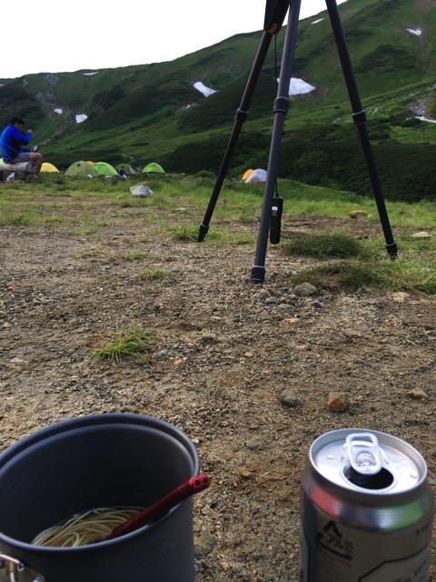 立山 三脚 ビール