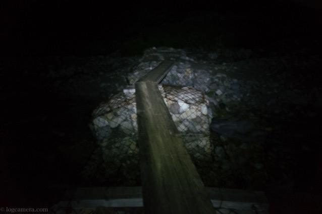 雷鳥沢キャンプ場 橋 川