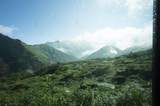 立山高原バス 道のり