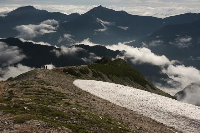 立山 雪景
