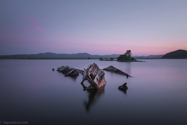 大根島 廃船