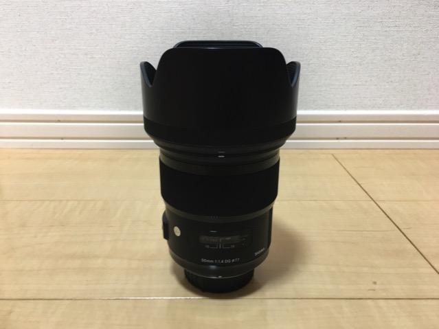 50mmf1.4DG HSM SIGMA