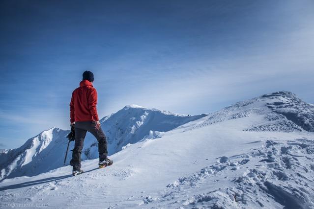 大山 冬山登山 アルティメイトフーディ