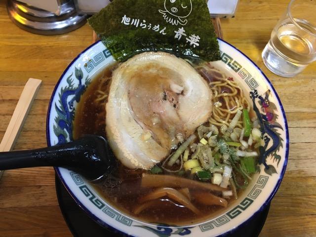 らぅめん青葉 醤油ラーメン