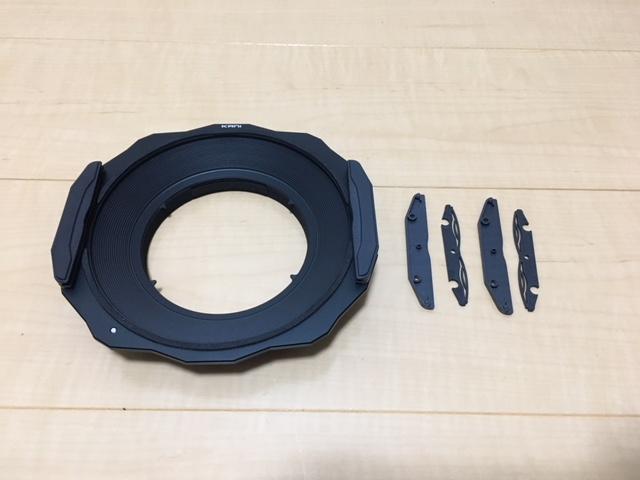 KANI 14−24mmホルダー 3枚付付属品