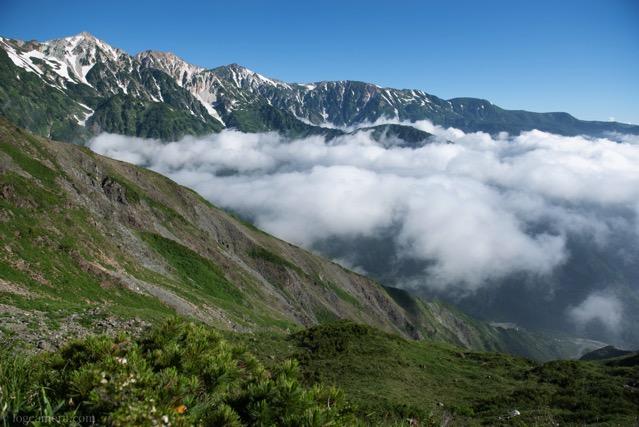 唐松岳登山道