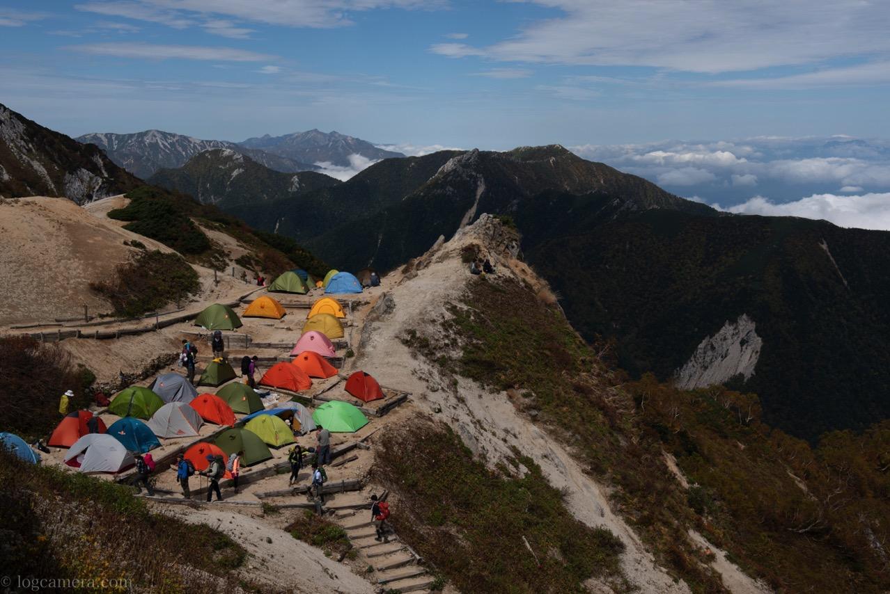 燕岳 山頂