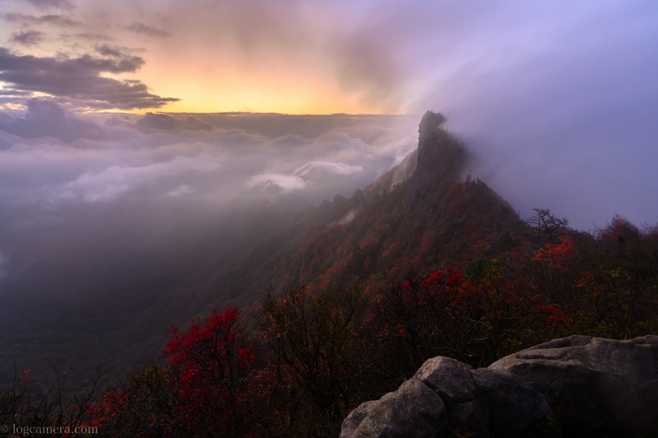石鎚山 雲海