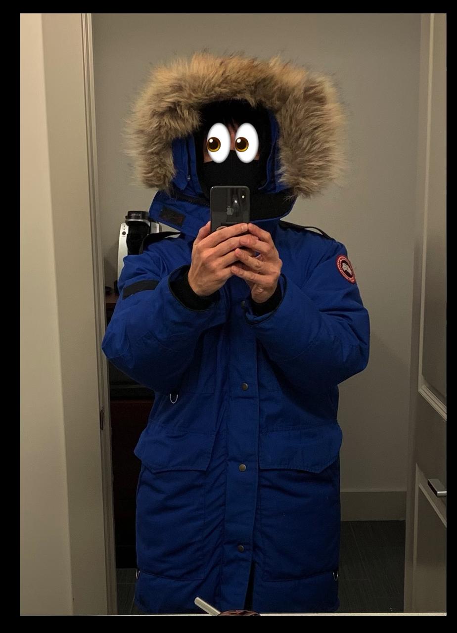 オーロラ 防寒具