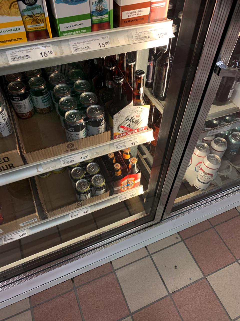 カナダ アサヒビール