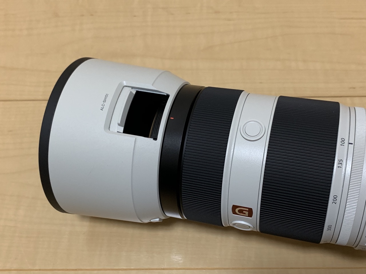 FE 100-400mm F4.5-5.6 GM OSS PLフィルター回転用のマド