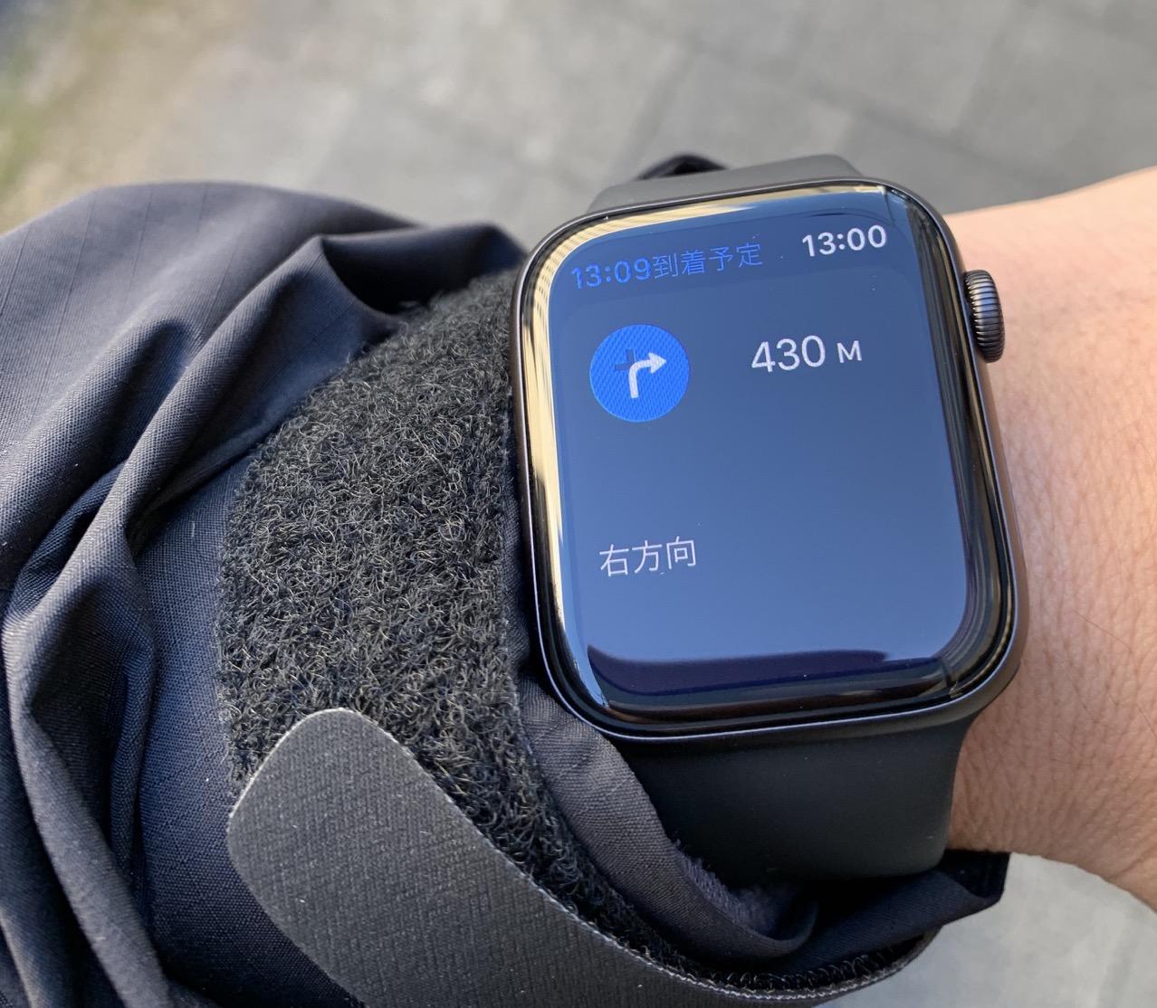 Apple Watch 地図アプリ