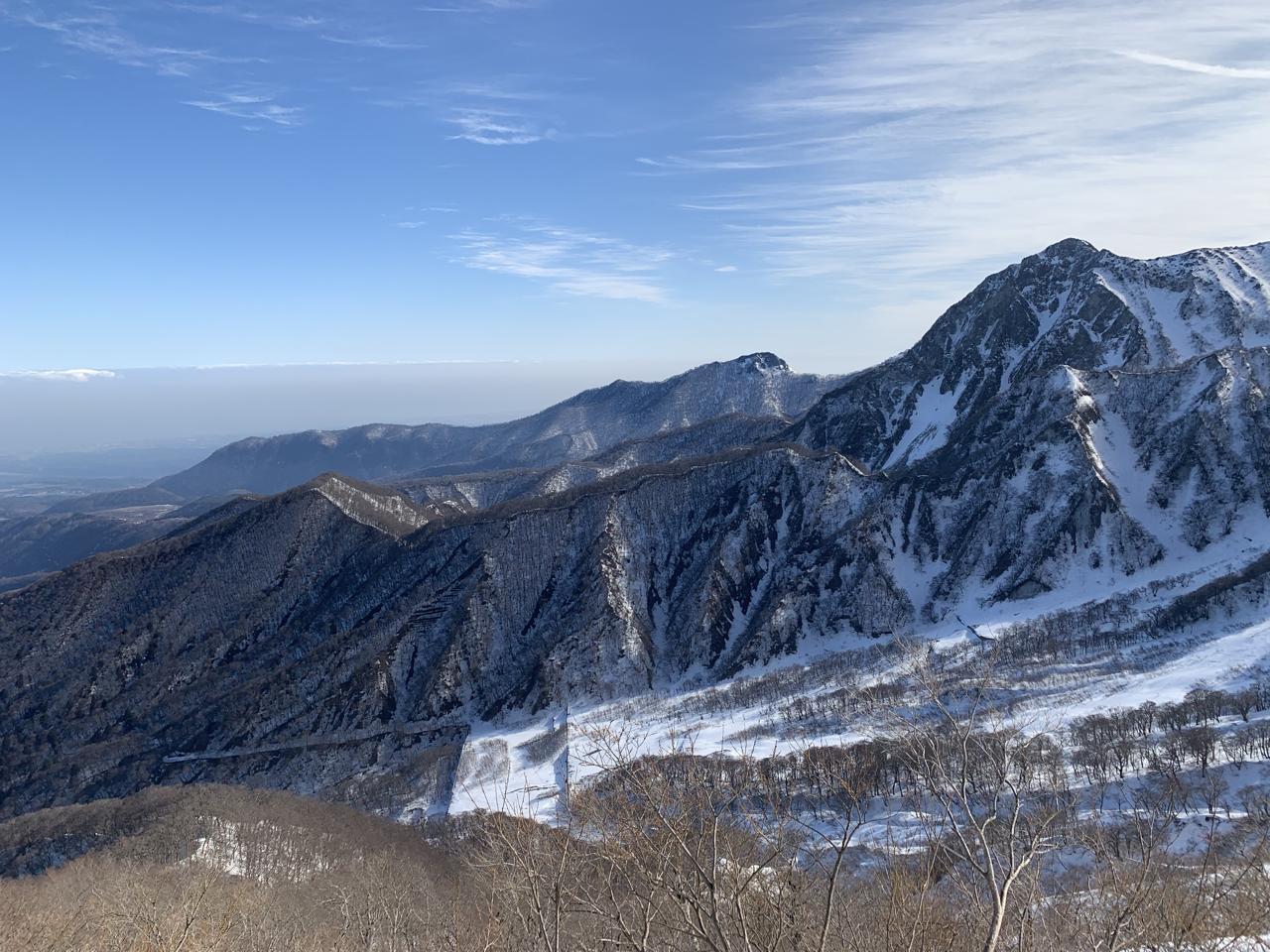 大山 雪山