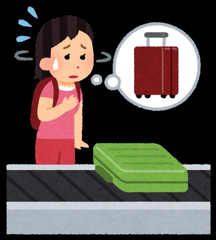 Travel bag mitsukaranai