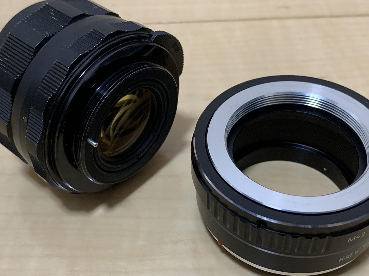 SuperTakumar 55mmf1.8 M42マウント