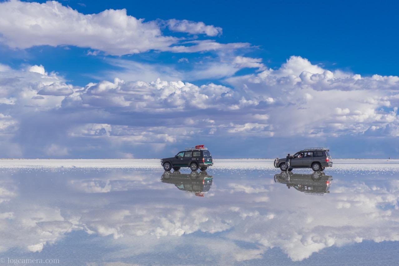 ウユニ塩湖 リフレクション
