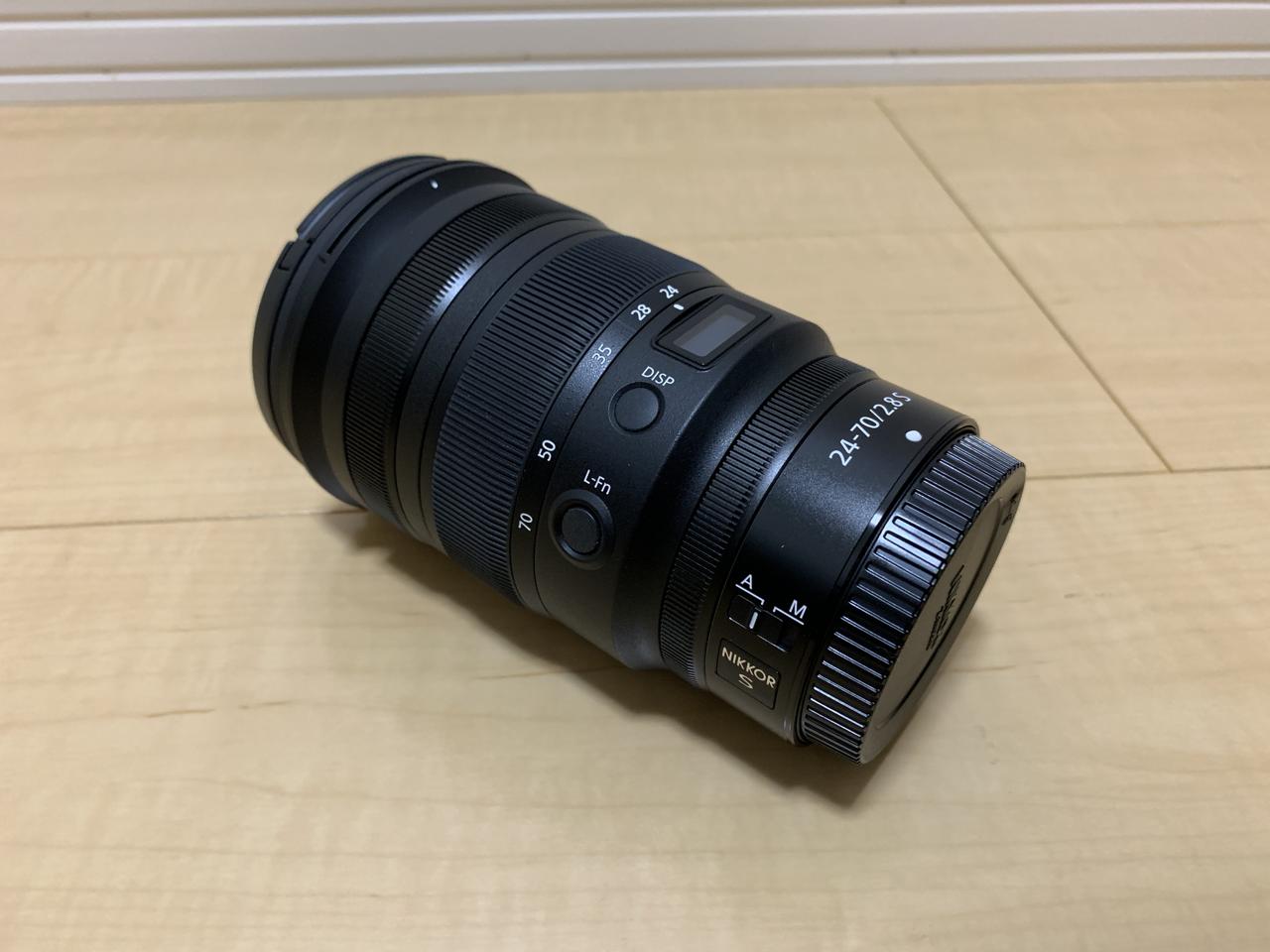 NIKKOR Z 24-70mm f/2.8 S ボタン