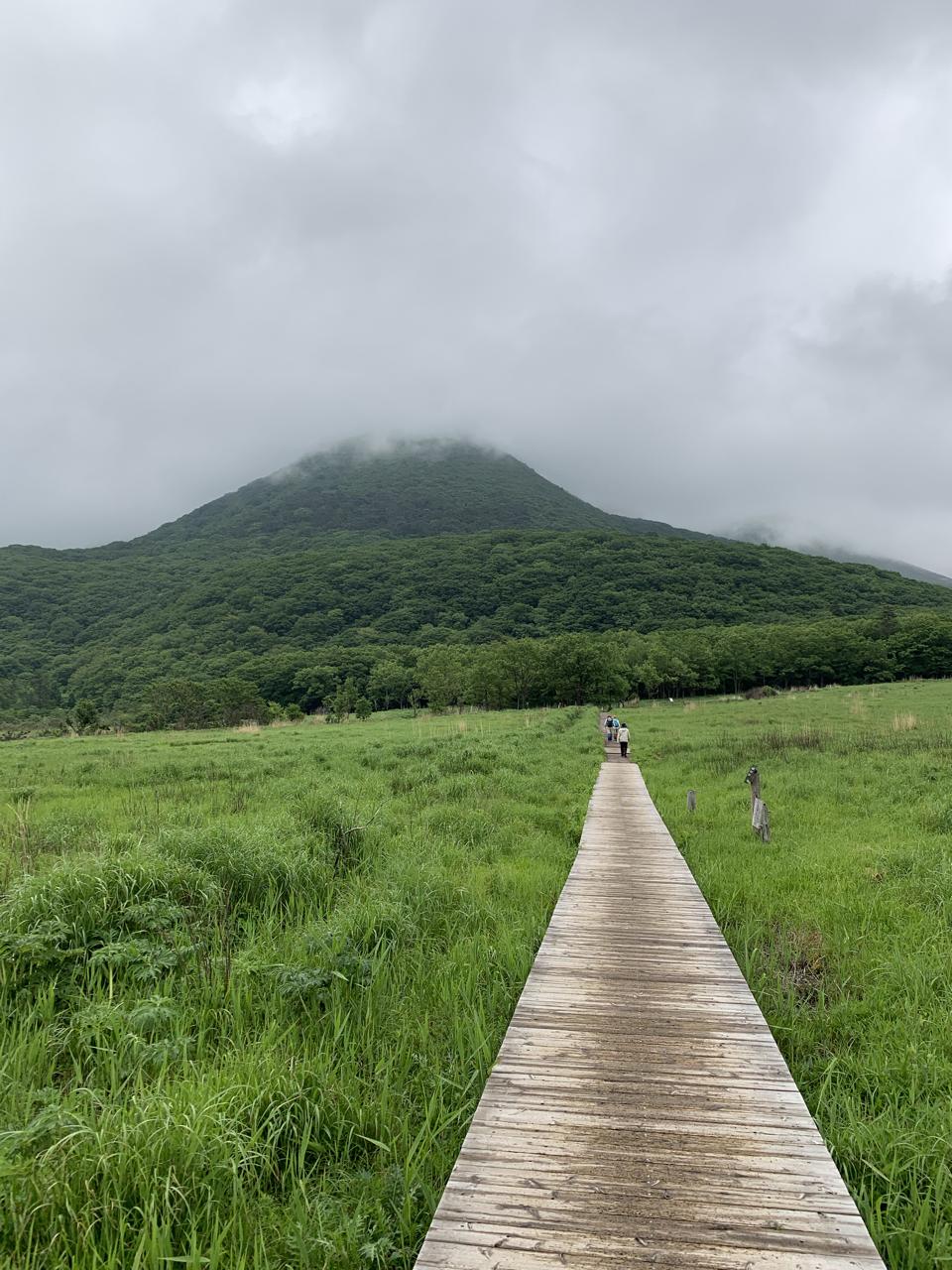 九重 登山道