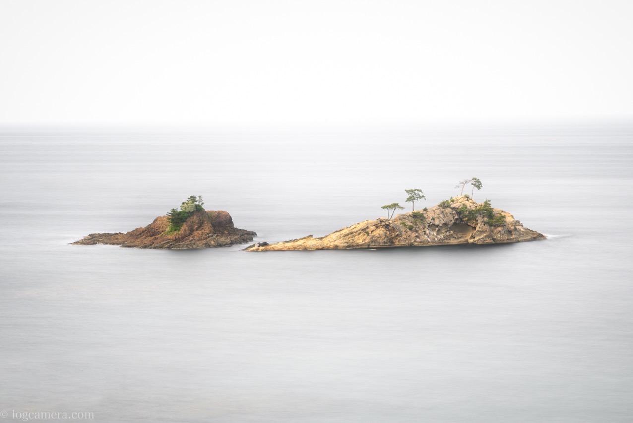 白カスカ島黒カスカ島