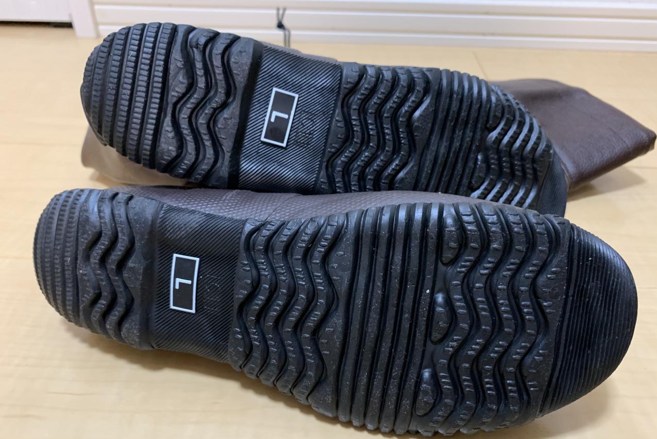 日本野鳥の会 バードウォッチング長靴 ソール