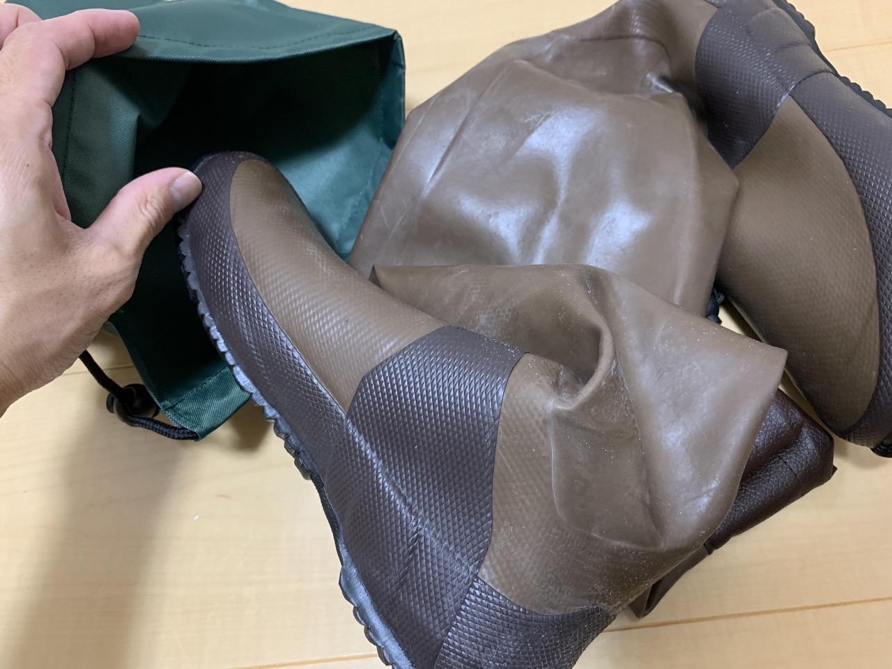 日本野鳥の会バードウォッチング長靴