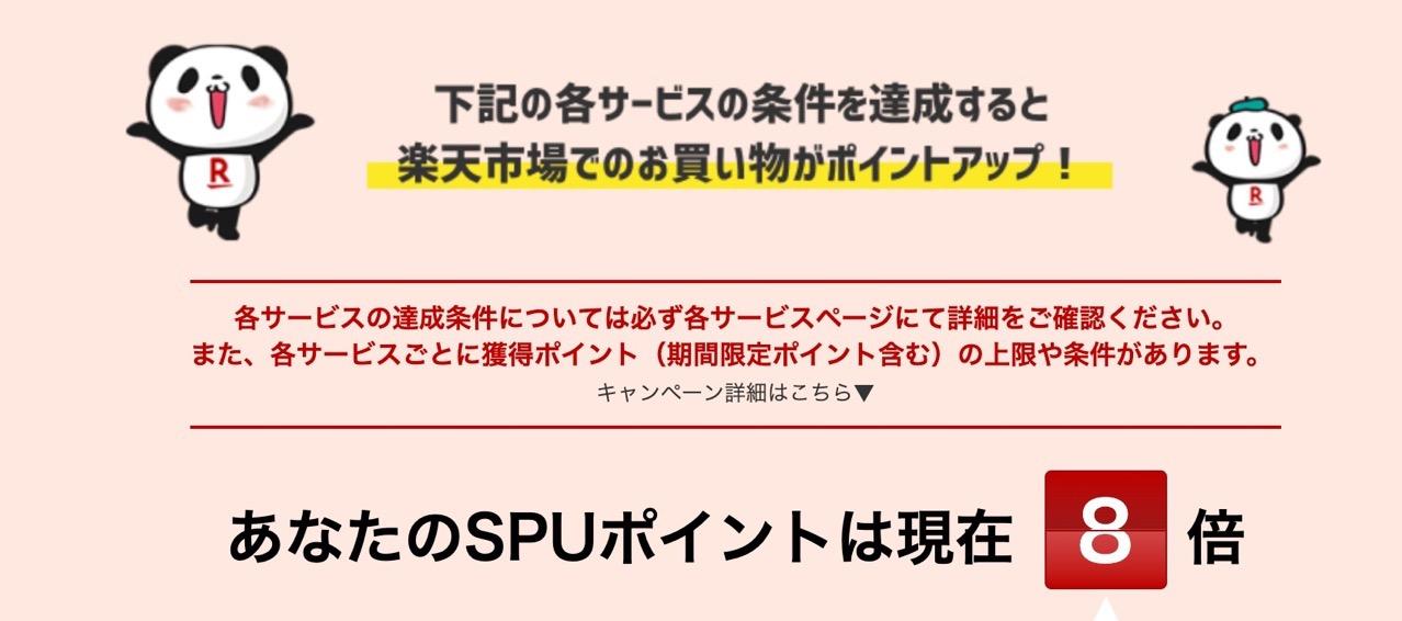 楽天市場 SPU スーパーポイントアッププログラム |ポイント最大16倍