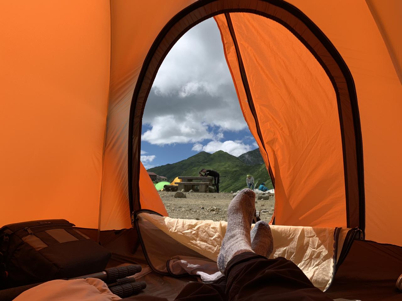 立山 テント