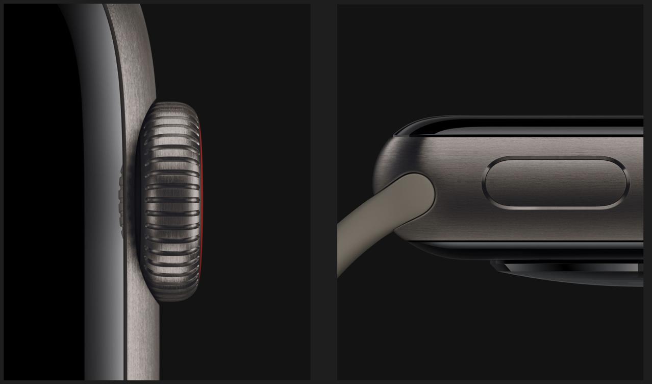Apple Watch チタニウム