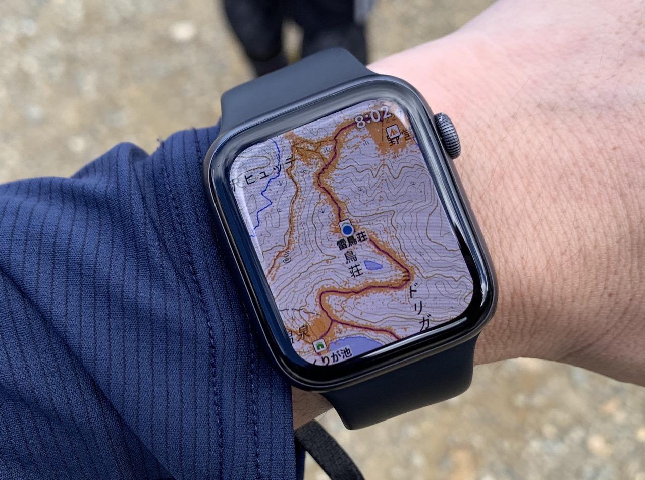 Apple Watch ヤマレコ アプリ