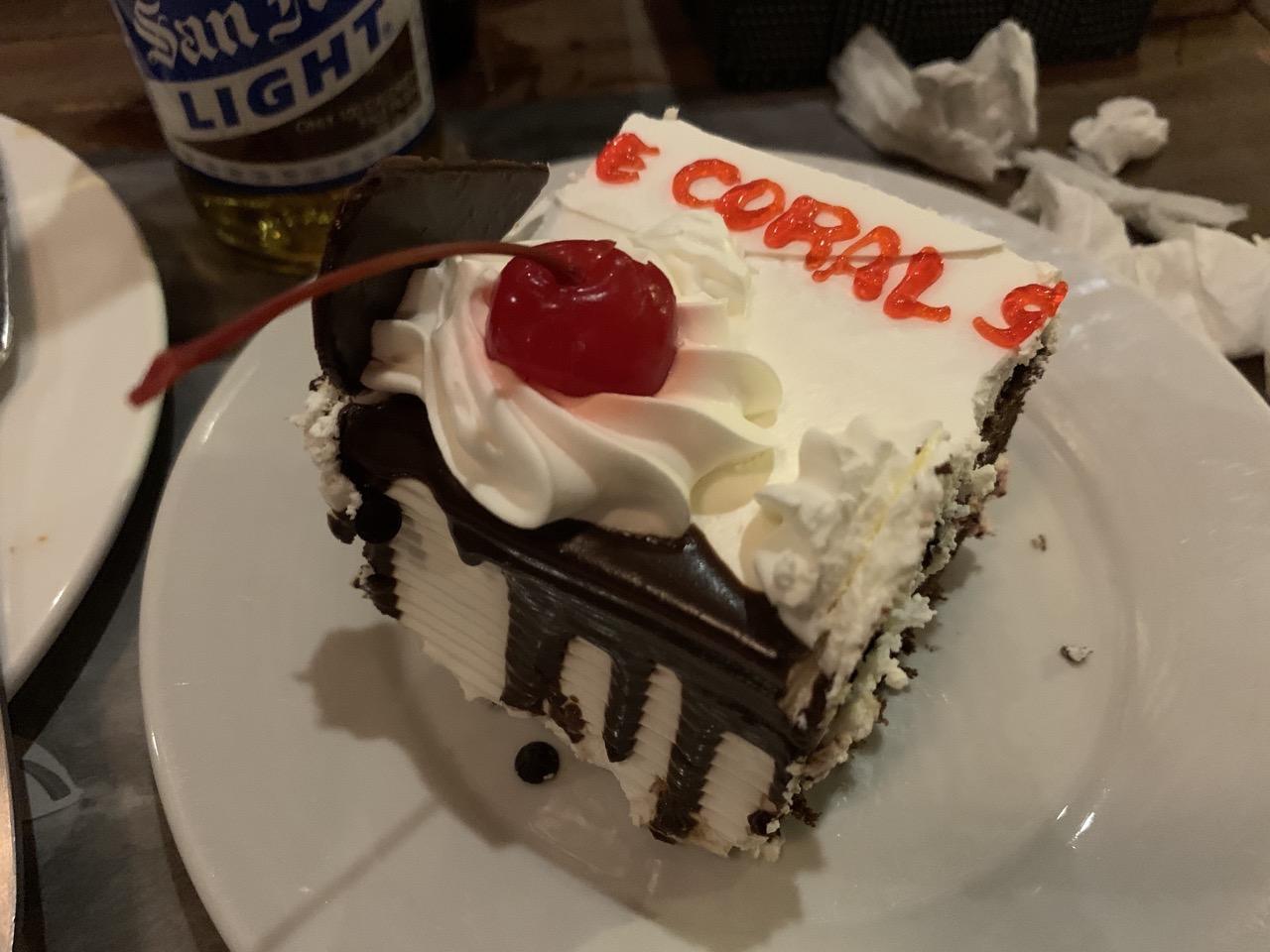 ブルーコーラル ケーキ