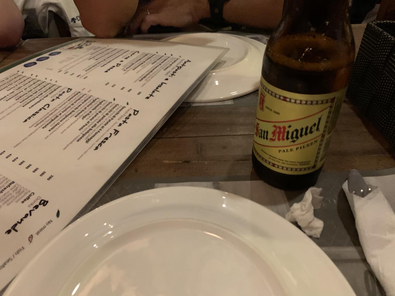 アフターダイブ ゲストディナー