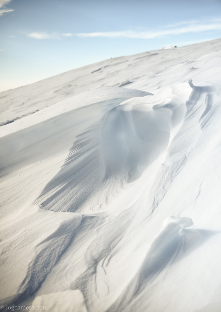 ホワイトバランス 雪
