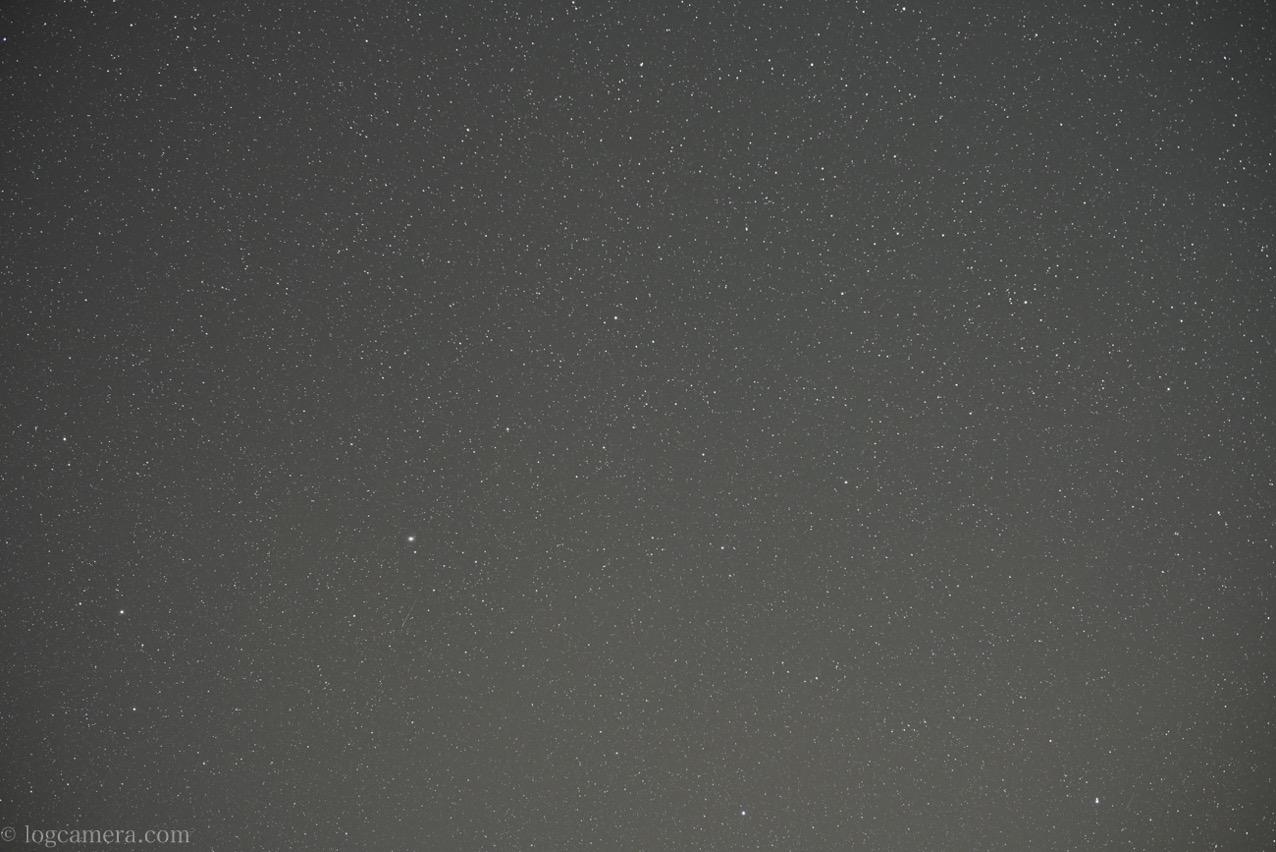 NIKKOR Z 58mm f/0.95 S Noctで星f2.0
