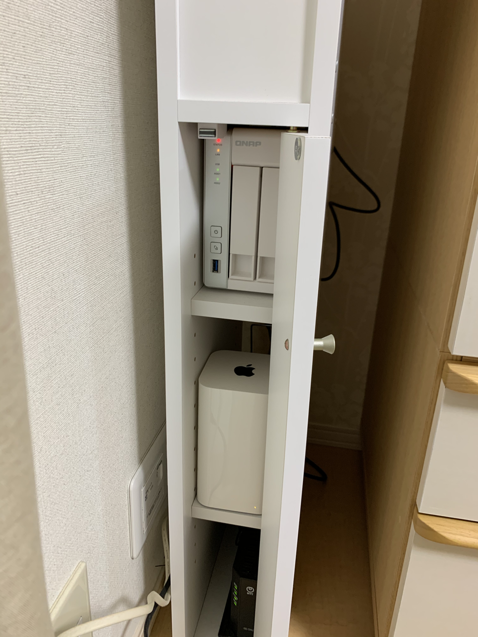 NAS 収納ボックス