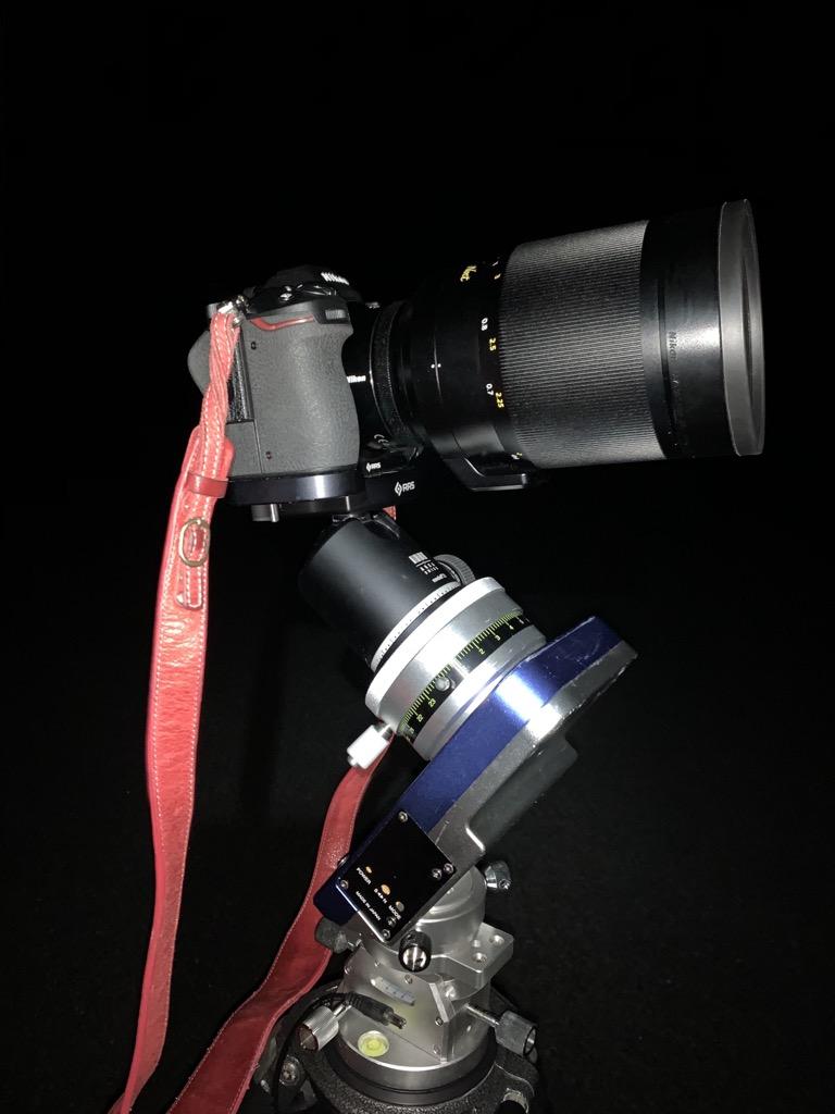 NIKKOR Z 58mm f/0.95 S Noctを赤道儀