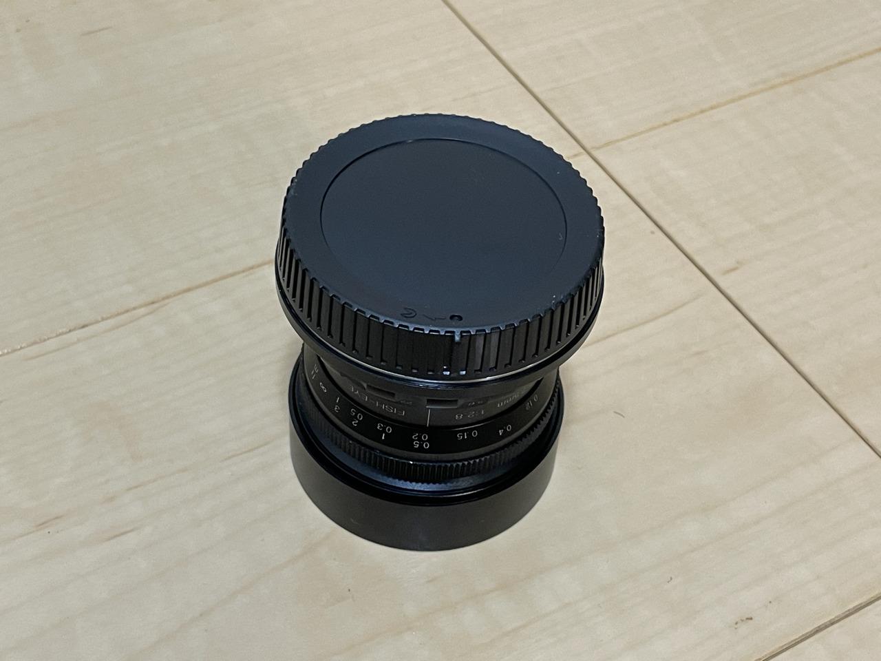 PERGEAR 7.5mm f2.8裏蓋
