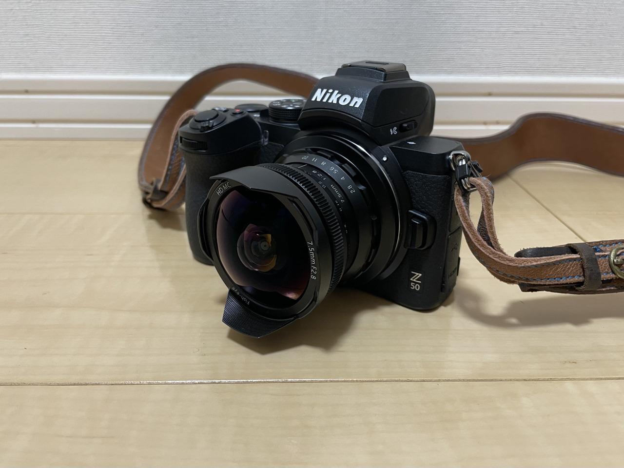 コンパクトな魚眼レンズ・PERGEAR 7.5mm f2.8を試してみる【PR】